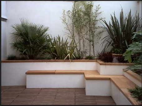 Rendered White Garden Wall Ideas How, Which Breeze Blocks To Use For Garden Wall