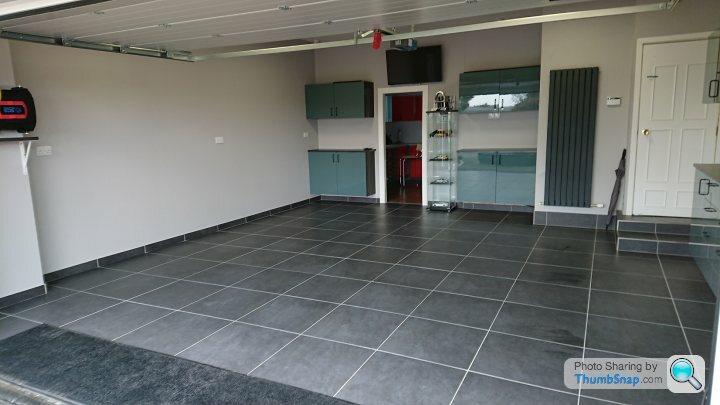Garage Floor Porcelain Tiles
