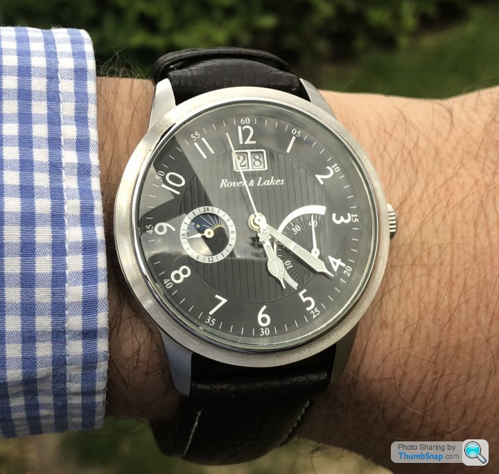 Rover and lakes watches