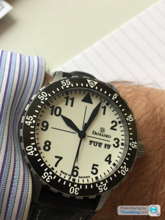 Damasko watches page 1 watches pistonheads for Damasko watches