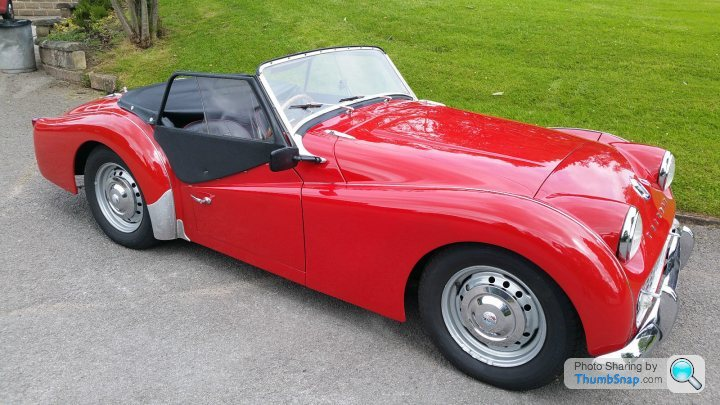 Tr6 Vs Healey 3000 Prices Why The Disparity Page 1 General Gassing Pistonheads