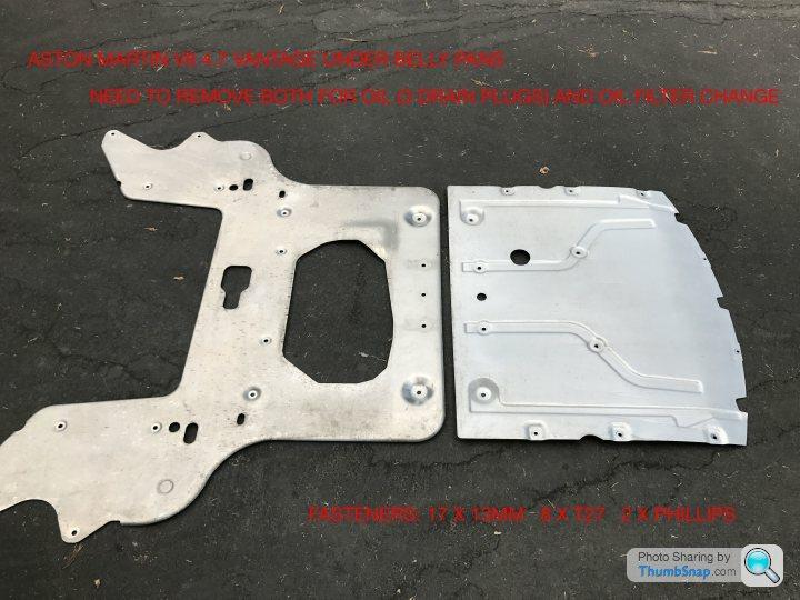 2009 Aston Martin Vantage V8 4 7 Oil Filter Change Page 1 Aston Martin Pistonheads Uk