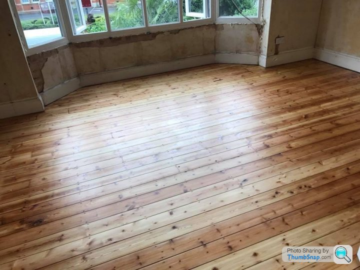 Best Finish For Sanded Pine Floorboards