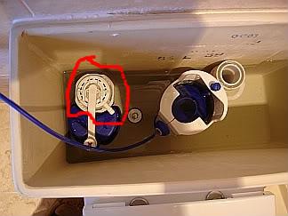 Push On Toilet Stuck Running