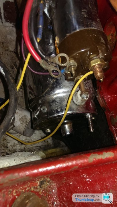 The starter wires solenoid go to what How to