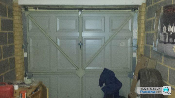 Insulating A Standard Metal Garage Door, How To Insulate Garage Door Uk