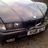 bmw scrapsellstrip damaged accident pistonheads