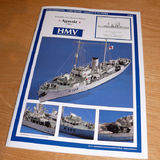 "1:250 Scale Paper Model: Flower Class Corvette ""Agassiz"" - Page 1 - Scale Models - PistonHeads"