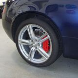 wheel caliper fitted red pistonheads