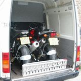 motorcycle pistonheads trailers strapping