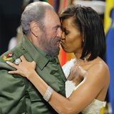 michelle obama hug photoshopped castro kiss