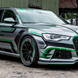 audi gassing pistonheads reveals oneoff abt general