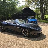 Out with the old, in with the blue. - Page 1 - Aston Martin - PistonHeads