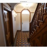 hallstairs paint victorian wooden homes panelled gardens pistonheads diy