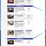 standard ads feedback pistonheads website appearing