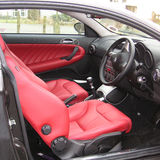 italian english leather interiors reds tans pistonheads