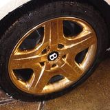 gassing plated general pistonheads gold wheels