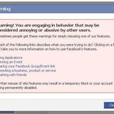 abuse facebook screens